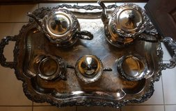 Ascot Sheffield Design by Community Vintage Silver-Plated 7 piece set in Westmont, Illinois