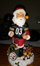 pittsburgh steelers santa claus bobblehead - legends of the field in Clarksville, Tennessee