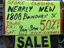 Clearance Sale - GOING OUT OF BUSINESS in Beaufort, South Carolina