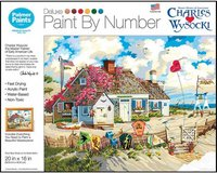 New! Root Beer Break At The Butterfields Paint By Numbers Kit 20x16in in Chicago, Illinois