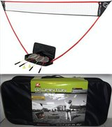 New! Zume Portable Badminton Set ~ Freestanding Base Sets Up Anywhere in Orland Park, Illinois