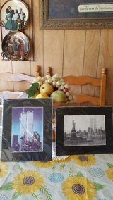 New York City Pictures / Prints Twin Towers and Statue of Liberty in Spring, Texas