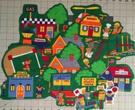 20 teddy bear town fabric cut outs, appliques, quilting, Scrapbooking in Yucca Valley, California