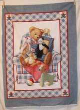daisy kingdom chair bear quilt fabric craft panel in Yucca Valley, California