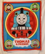 thomas the tank engine & friends 2005 fabric craft panel in Yucca Valley, California
