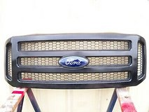 2005 2006 2007 ford super duty f250 f350 black grill grille and emblem 05 06 07 in Spring, Texas
