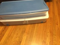 Under bed storage or Christmas roll wrap in Chicago, Illinois