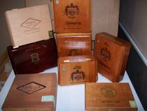 cigar box collection in Orland Park, Illinois