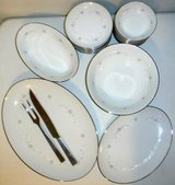 30pc Sango China Serving Platters Bowls Plates +Carving Set in Chicago, Illinois