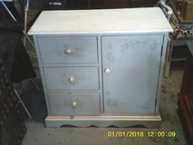 reduced..DRESSER 3 DRAWERS 1 DOOR OPENS TO A SHELF in Orland Park, Illinois