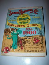 sears roebuck and co., catalogue 110, vintage 1970 repro of 1900 catalogue in Chicago, Illinois