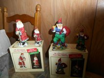 2 international santa claus collection (Italy + Iceland) figurines & ornaments in Spring, Texas