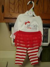 Girls size 3 Mos. Santa's Helper - NEW WITH TAGS in Naperville, Illinois