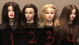 Mannequin heads in Clarksville, Tennessee