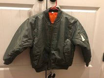 MA-1kids flight jacket in Fort Campbell, Kentucky