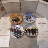 LOT OF 4 BEATLES DELPHI IN THE BOX COLLECTOR'S PLATES W/COA, PLATES 1- in Yorkville, Illinois