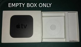 Empty Box Apple TV 4K 4th Generation A1842 in Bartlett, Illinois