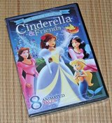 NEW Royal Princess Collection DVD Cinderella & Friends 8 Enchanted Fairy Tales in Chicago, Illinois