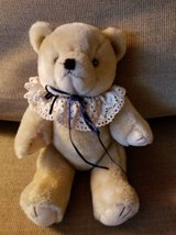 Vintage jointed pose able bear in Camp Pendleton, California