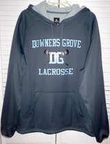 Like New! Downers Grove LaCrosse Pullover Hoodie Jacket ~Men's Large in Orland Park, Illinois