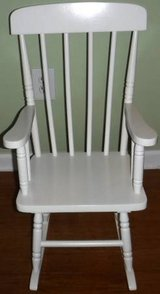 Like New! Kid Kraft childs Wood Spindle Rocking Chair in Orland Park, Illinois