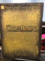 Lord of the rings DVD trilogy in Kingwood, Texas