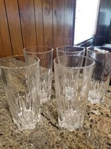 5 new heavy crystal 10oz glasses in Camp Pendleton, California