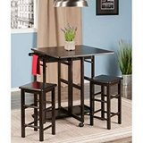 3-PC Set Space Saver Kitchen Table and Stool Set - New! in Joliet, Illinois