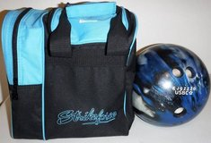 Brunswick TZone 10 lb Bowling Ball + StrikeForce Tote Bag in Orland Park, Illinois