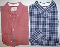 Men's XL Stafford Prep Casual Dress XLg Shirts ~1 check + 1 plaid in Joliet, Illinois