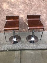 Set of 2 Modern Bar/Counter Stools in Travis AFB, California