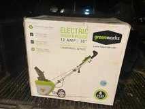 """New Greenworks Electric Snow Thrower - 12 AMP - 20"""" Clearing in Yorkville, Illinois"""
