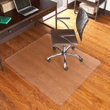 Office room ES Robbins Chair Mat for Hard Floors, 46  x 60 No Lip, Clear in Bolingbrook, Illinois