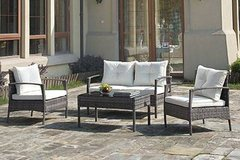 NEW! Outdoor Conversation Set Loveseat+2 chairs FREE DELIVERY in Camp Pendleton, California