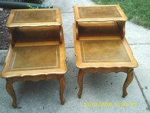 SET OF END TABLES ALL KNOTTY PINE ,EXCELLENT CONDITION in Orland Park, Illinois