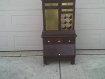 ETHAN ALLEN CABINET & WINE RACK WIT MANY DRAWERS AND DOORS in Orland Park, Illinois