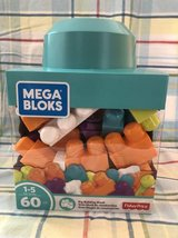 Mega Bloks by Fisher Price Big Building Imagination Lego Blocks Age 1- in Naperville, Illinois