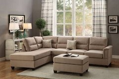 New! 3 Piece Sectional Sofa FREE DELIVERY in Camp Pendleton, California