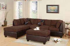 New Chocolate Sofa Sectional and Ottoman FREE DELIVERY* in Camp Pendleton, California