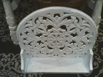 WOOD HANGING SHELF SHABBY CHIC STYLR EASY TO HANG LIKE NEW ,IT IS PRI in Westmont, Illinois