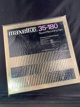 10.5 inch Factory Sealed Metal Maxell reel in Naperville, Illinois