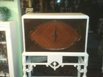 ANTIQUE  DESK I HAVE EVER SEEN WHERE IT HAS A WATER FALL FRONT WHICH I in Westmont, Illinois