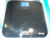 A&D Medical Bluetooth Wireless Bathroom Weight Scale for Multiple(T=41 in Clarksville, Tennessee