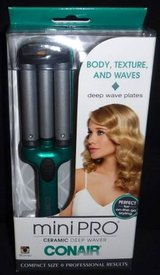 New! Conair MiniPro Deep Wave Ceramic Curling Iron Styler in Naperville, Illinois