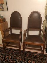 Vintage Antique Wooden Chairs - Set of two in Naperville, Illinois
