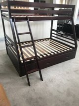 Ashley Furniture Halanton Twin over Full Bunk Bed with Storage Drawer in Westmont, Illinois