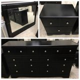 Ashley Furniture Shay Dresser, Nightstand and Mirror- Almost Black in Westmont, Illinois