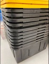 NEW Moving or Storage Tough Box Black Bin with Yellow Lid 27 Gallon in Camp Pendleton, California