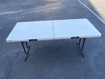 """Commercial Grade Professional Fold in Half Table with handle 72"""" long in Camp Pendleton, California"""