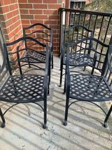 Wrought Iron Patio Chairs in St. Charles, Illinois